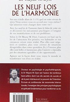 Livres Couvertures de Les neuf lois de l'harmonie - La joie, le bonheur et l'équilibre retrouvés