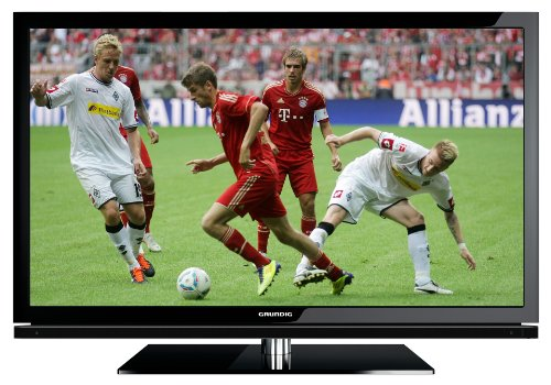 Grundig 40 VLE 8160 BL 102 cm (40 Zoll) 3D LED-Backlight-Fernseher, Energieeffizienzklasse A (Full-HD, DVB-T/C/S2) schwarz