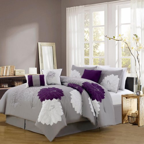 Provence Embroidered Comforter Set