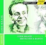 ベートーヴェン : 交響曲 第2番 | バルトーク : 管弦楽のための協奏曲 他 (Lorin Maazel conducts Beethoven & Bartok / Radio-Sinfonieorchester Stuttgart des SWR - Historical Recording 1958) [輸入盤]