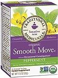 Traditional Medicinals Organic Smooth Move Peppermint Tea, 16 Tea Bags