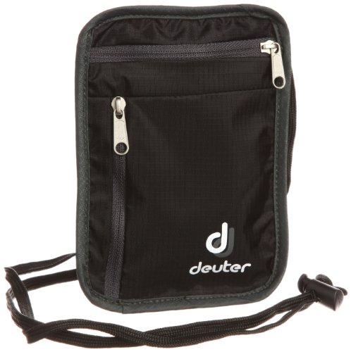 [ドイター] deuter セキュリティーワレット 1 D39200 7410 (ブラック×グレー)