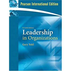 Leadership in Organizations:Global Edition