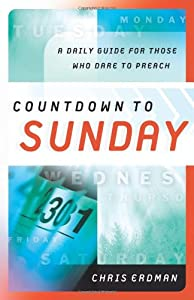 """Cover of """"Countdown to Sunday: A Daily Gu..."""