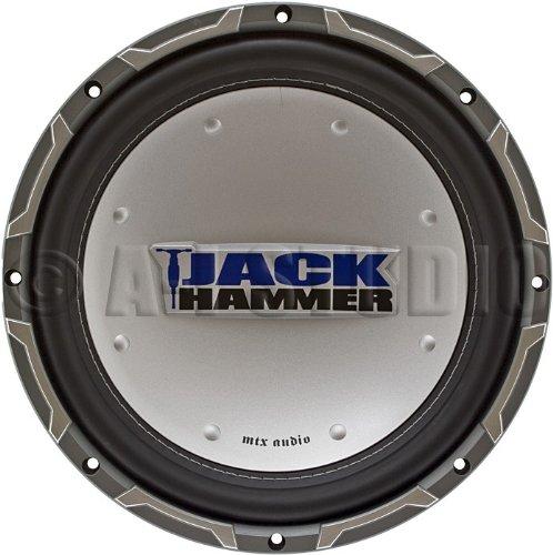 Mtx Jackhammer Jh4510 04 Car Subwoofer Driver 200 Watt 10