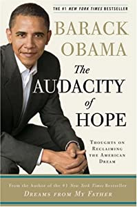 "Cover of ""The Audacity of Hope: Thoughts ..."