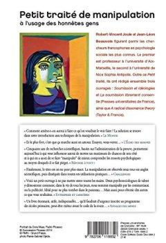 Book's Cover ofPetit traité de manipulation à l'usage des honnêtes gens