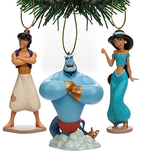 Disney Princess Jasmine Christmas Ornament Set