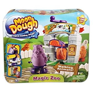 Moon Dough Magic Zoo Playset