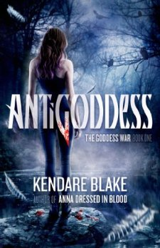 Antigoddess (The Goddess War) by Kendare Blake| wearewordnerds.com