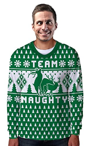 Team Naughty Ugly Sweater Long Sleeve T-Shirt