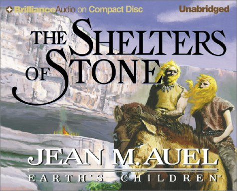 Cover of The Shelters of Stone (Earth's Children® Series) by Jean M. Auel