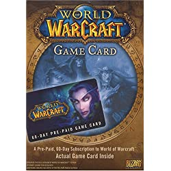 World of Warcraft 60 Day Pre-Paid Time Card [Digital Code]