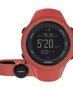 Suunto Ambit3 Sport HR - Reloj de entrenamiento GPS para mujer, color amarillo, talla M