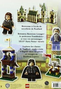 Livres Couvertures de Lego Harry Potter, l'album d'autocollants : Bienvenue à Poudlard