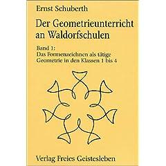 Ernst Schuberth: Geometrie an Waldorfschulen - Cover