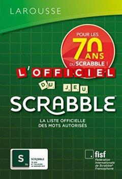 Book's Cover ofL'Officiel du jeu Scrabble