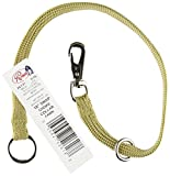 Resco Professional Braided Nylon Snap Choke Collar for Dogs, 18-Inch, Fawn