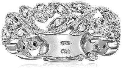 10k-White-Gold-White-Diamond-Ring-14-cttw-H-I-Color-I3-Clarity-Size-7