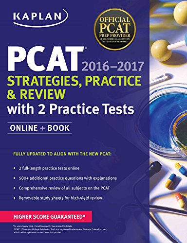 1506200907 - Kaplan PCAT 2016-2017 Strategies, Practice, and Review with 2 Practice Tests: Online + Book (Kaplan Test Prep)