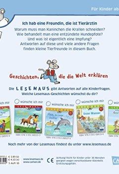 Buchdeckel von LESEMAUS 89: Ich hab eine Freundin, die ist Tierärztin: Vollständig überarbeitete Neuausgabe