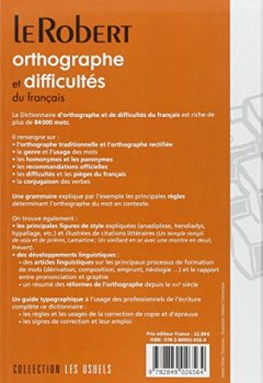 Telecharger Dictionnaire D Orthographe Et De Difficultes Du