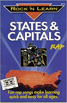 States and Capitals Rap Cassette Tape and Book (Rocknlearn ...