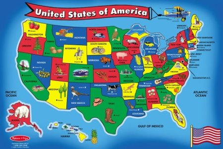 map puzzles usa » Free Wallpaper for MAPS | Full Maps