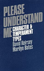 "Cover of ""Please Understand Me: Character..."