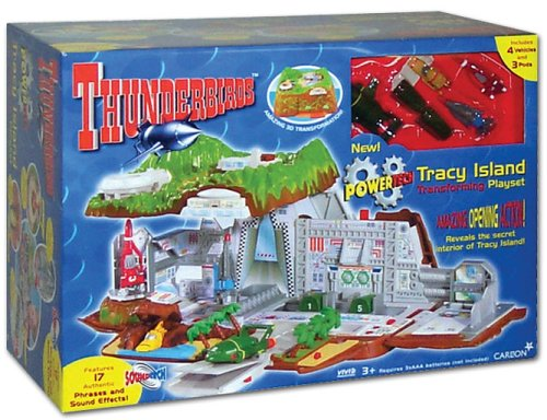 Thunderbirds POWERTECH Tracy Island Toy For Only £unknown