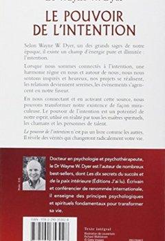 Livres Couvertures de Le pouvoir de l'intention - Réalisez tous vos désirs en vous connectant à l'intelligence universelle