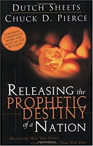 """Cover of """"Releasing The Prophetic Destiny..."""