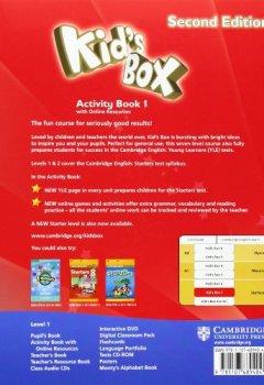 Livres Couvertures de Kid's Box Level 1 Activity Book with Online Resources