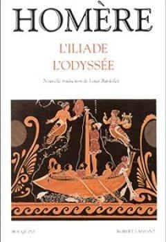 Livres Couvertures de L'Iliade Et L'Odyssée