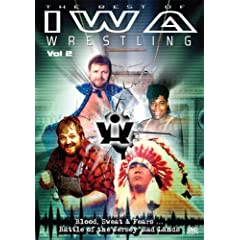 Get The Best of IWA Wrestling Vol. 2 from Amazon.com