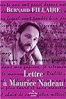 Lettre à Maurice Nadeau