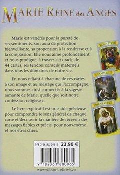 Livres Couvertures de Marie Reine des Anges : Cartes Oracle