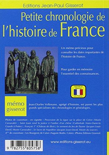 Telecharger Memo Petite Chronologie De L Histoire De