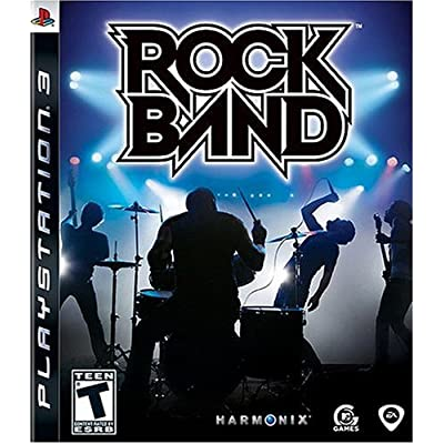 The Box Art for Rock Band (I didnt buy the bundle)