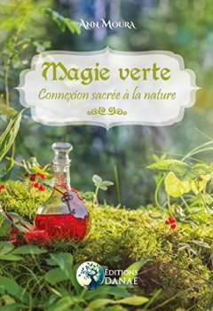 Livres Couvertures de Magie Verte: Connexion sacrée à la nature