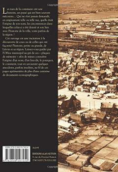 Livres Couvertures de Liévin - Histoire des rues