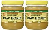 YS Organic Bee Farms - Healthy Honey (Raw) - 14 oz. (Pack of 2)