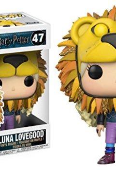 Livres Couvertures de Funko 14944 Figurine POP! Vinyle - Harry Potter - Luna Lovegood With Lion Head