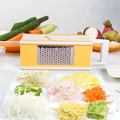 Multi-Box Spiral Slicer 5 In 1 Slicer Vegetable Slicer 5 In 1 Boxed Grater With Vegetable Storage Space