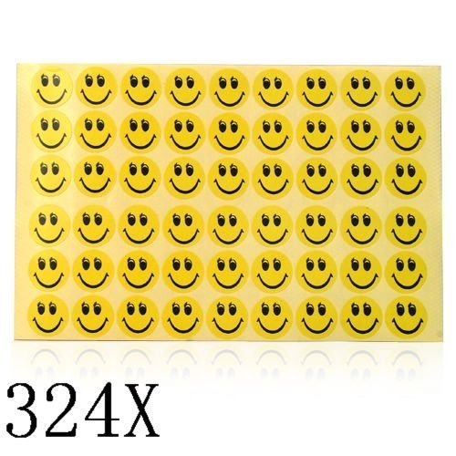 324 Smiley Face Stickers