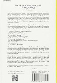 Livres Couvertures de The Variational Principles of Mechanics