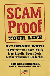 "Cover of ""Scam-Proof Your Life: 377 Smart..."