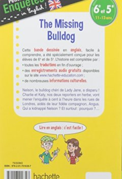 Telecharger Anglais 6e 5e The Missing Bulldog Cahier De
