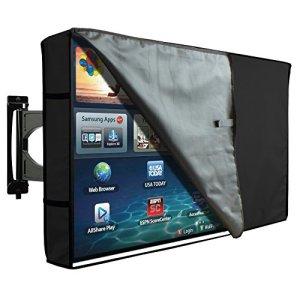 Pellicola-TV-esterno-Custodia-Universale-per-TV-da-40-42-LCD-LED--Plasma-resistente-al-acqua-Doppio-Pellicola-Proteggi-Schermo-Con-Strato-invisibile-compatibile-con-supporto-da-tavolo-e-parete-nero-tr