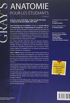Livres Couvertures de Gray's Anatomie pour les étudiants